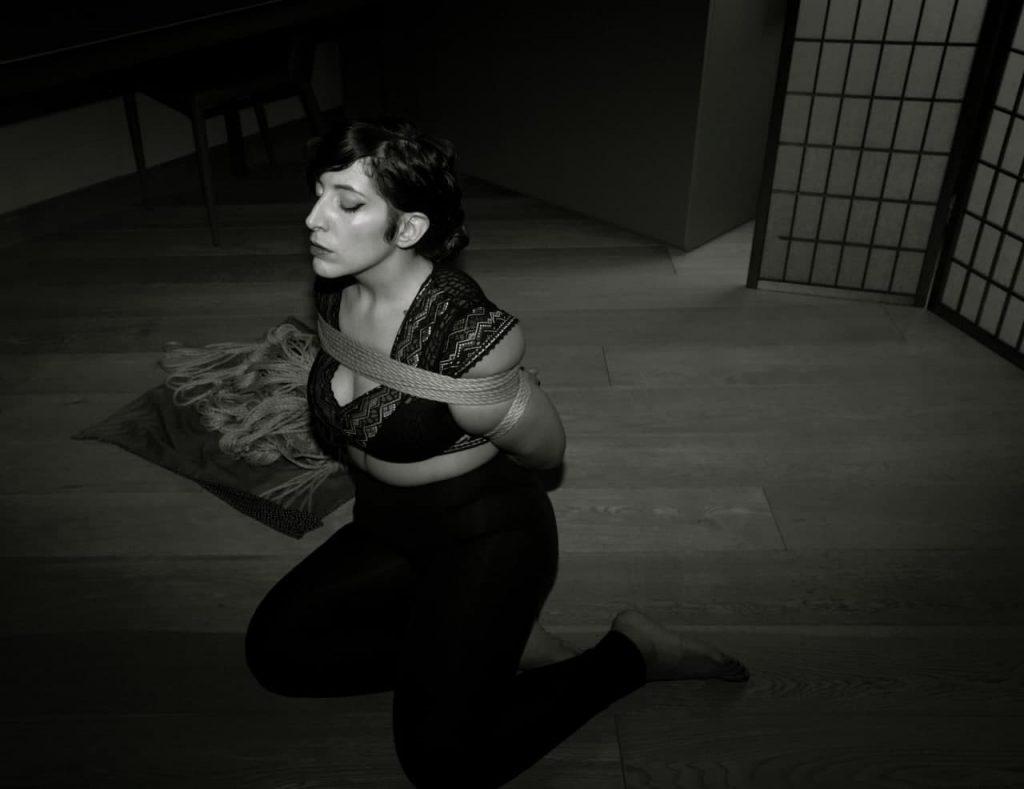 Rope bondage a Torino con Alithia Maltese